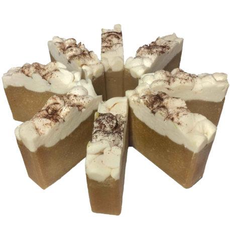 pumpkin spice seasonal soap